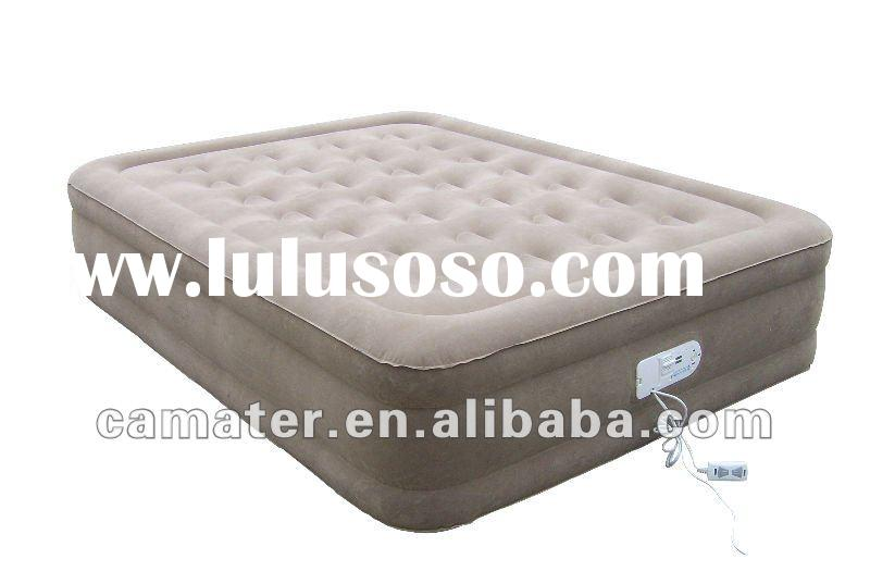 2012 hot sale luxurious inflatable air bed with pump inside