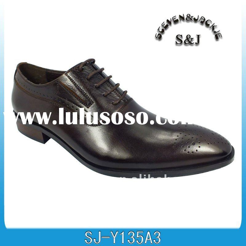 2012 new design leather men shoes
