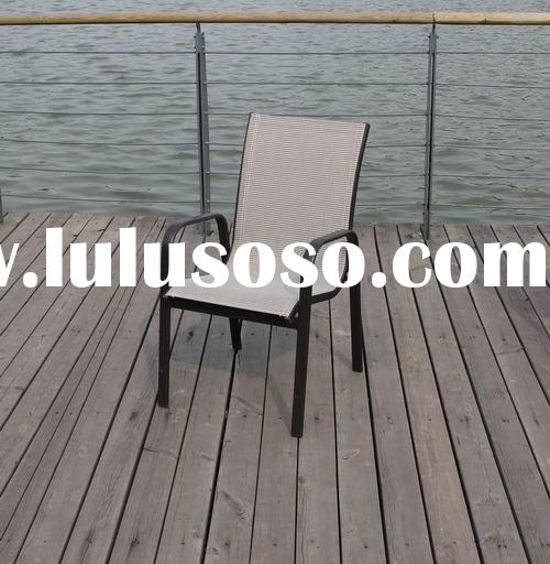 2012 new style aluminum frame mesh fabric outdoor chair