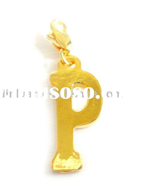 24K gold plated charms wholesale
