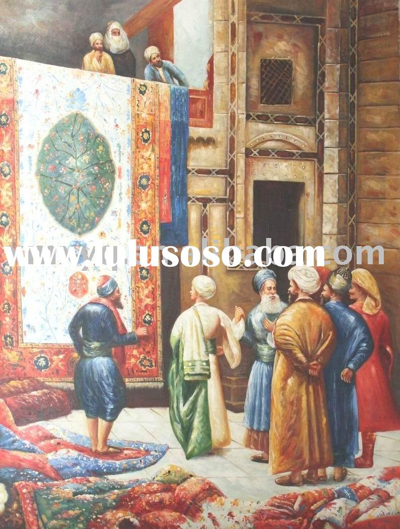 "24""X36"" Arabic Religion Nature Handmade Oil Painting on Canvas XYQ-440"