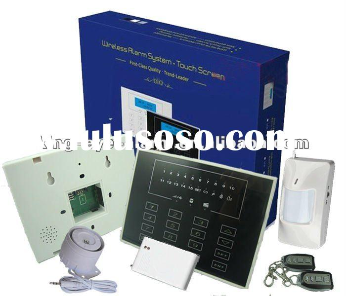 24hours protect your home wireless GSM home burglar alarm system