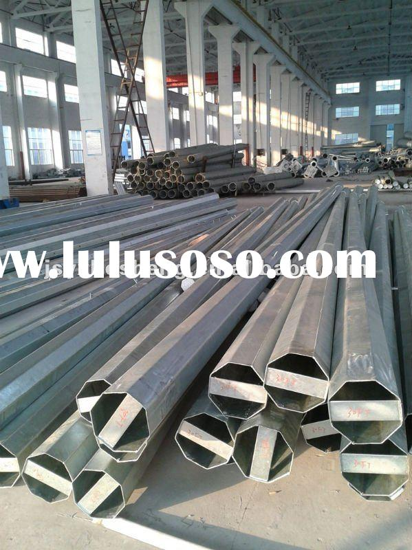 25ft 30ft 35ft 40ft... Galvanized distribution steel pole