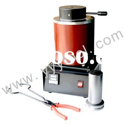 2KG Electric Melting Furnace For Gold, Silver And Platinum,1 Melt Tongs And 1 Crucible,Jewelry Tools