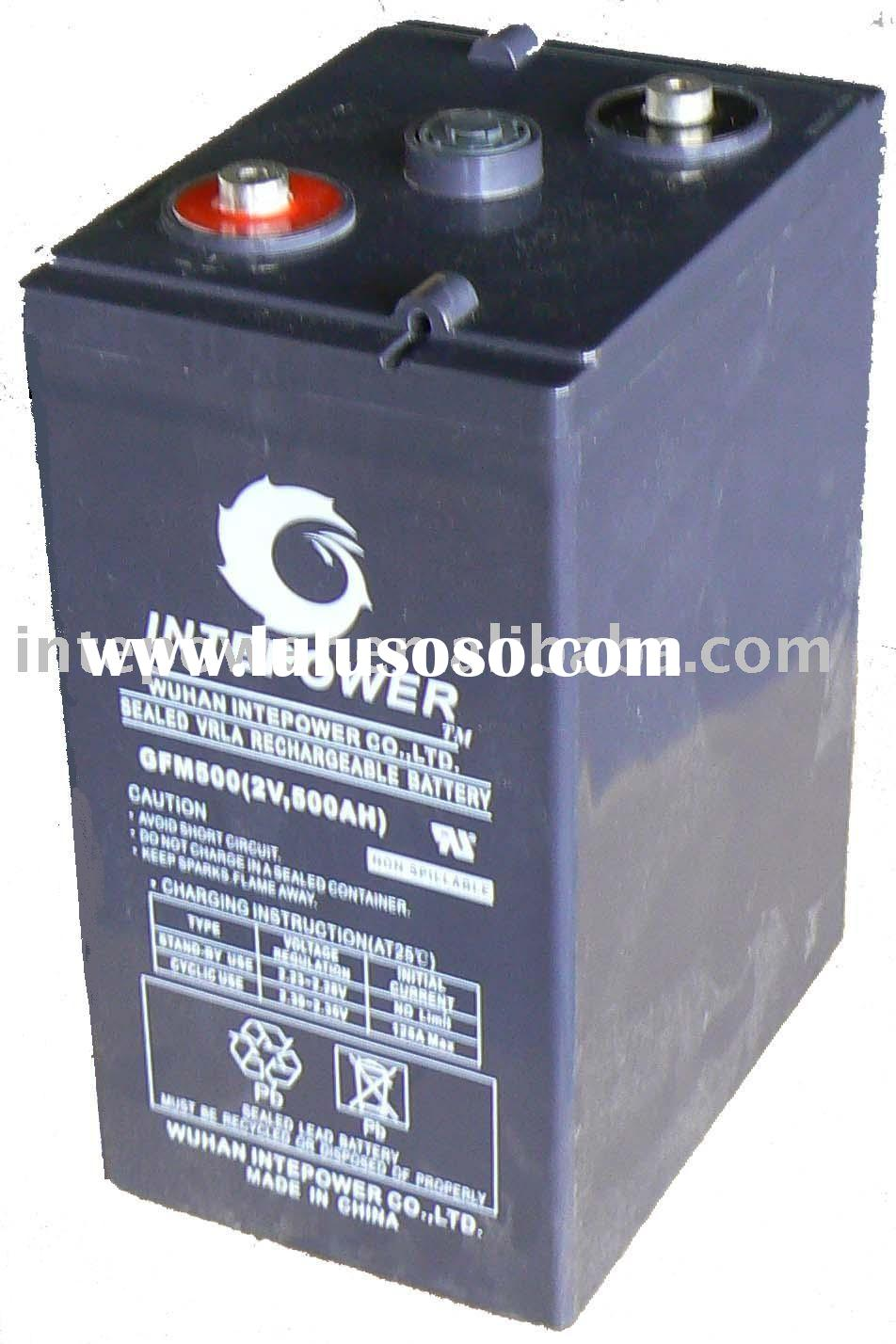 2V500AH GEL DEEP CYCLE BATTERY