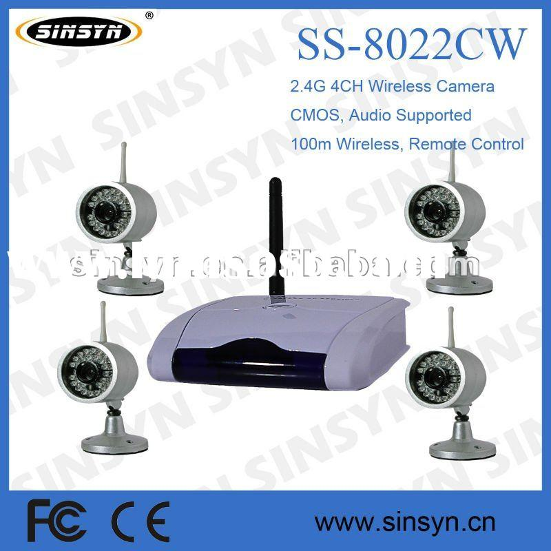 2.4G hidden Wireless security camera system