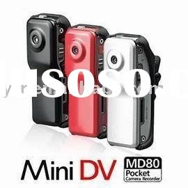 30FPS Mini DV DVR Sports Video Camera hidden Camera MD80 Sports Camera 720x480 2 Mega Pixel