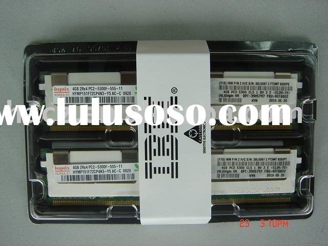 39M5797 IBM memory Memory - 8 GB ( 2 x 4 GB ) - FB-DIMM - DDR II - 667 MHz / PC2-5300 - CL5 - fully
