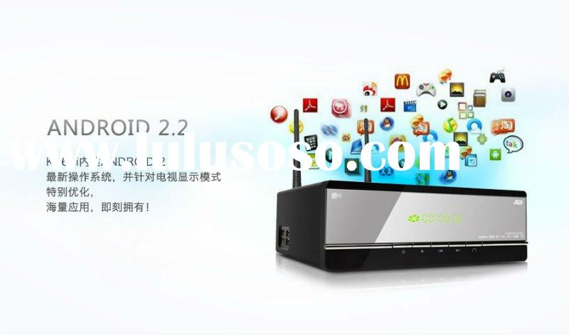 3d hdmi media player 1080p with external hdd Kaiboer K660i Realtek1186 3D media player support Andro