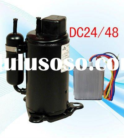 48V DC brushless Eelectrical compressor for telecom shelter cabinet air conditioner