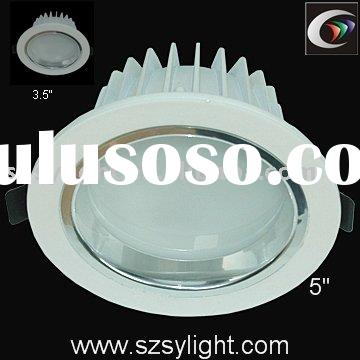 "4""10W, 5"" 15W high power Led recessed Downlight"