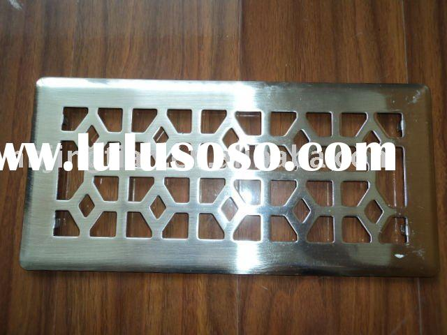 "4""X12"" floor metal air vent/floor register air vent/"