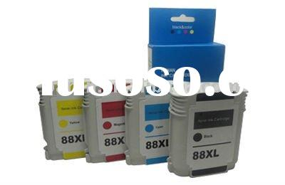 4-pack for HP 88 XL ink for HP88 (C9396A) printer inkjet Cartridge ISO9001 made from first hand orig