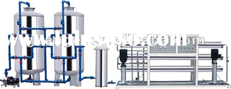 5000L/H reverse osmosis water purification system treatment machine for drinking well water
