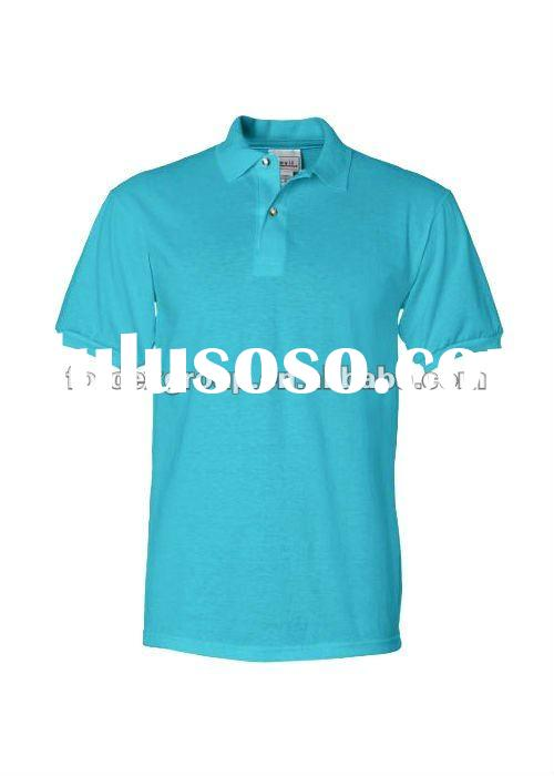 50% heavyweight cotton jersey/50% polyester Custom Polo Shirts