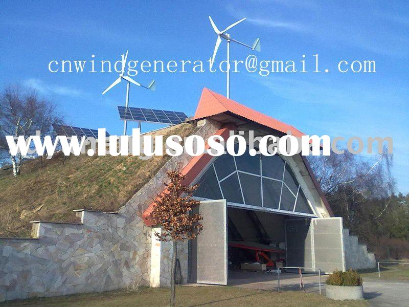 5KW Wind power generator and solar hybrid system with CE