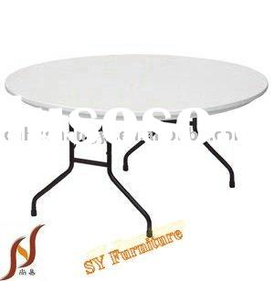60'' blow molding round table for banquet