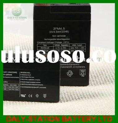 6V Sealed Lead Acid Battery 4.5Ah(3FM4.5)