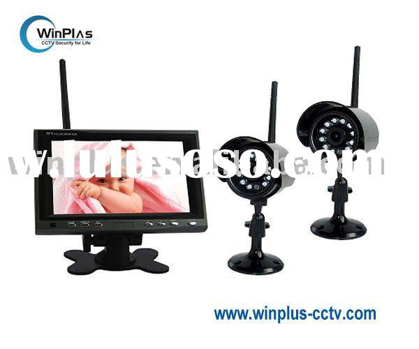 "7"" Wireless Baby Monitor & Wireless Camera Kit (WP-M704C2)"
