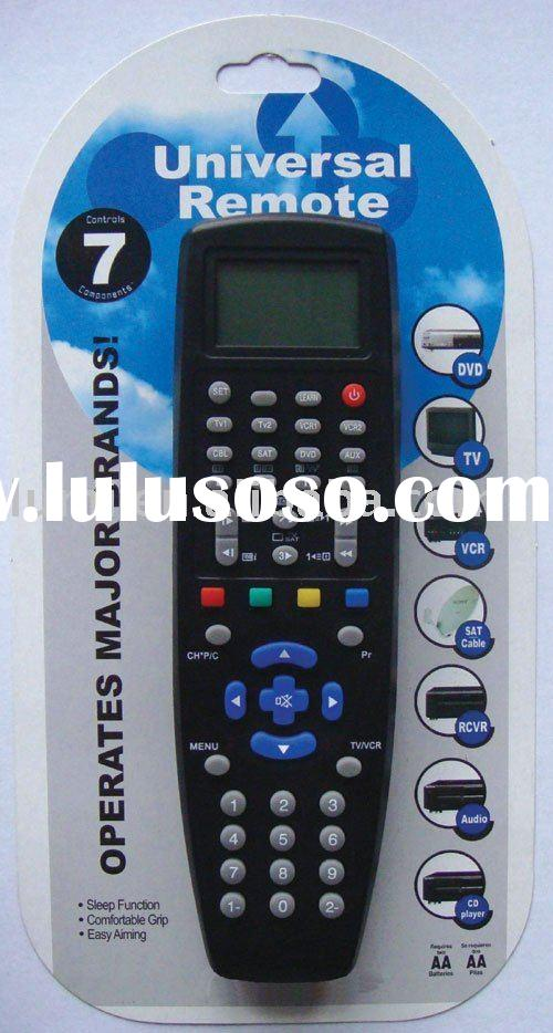 7 in 1 Universal Remote Control,dvd remote control,video game accessories