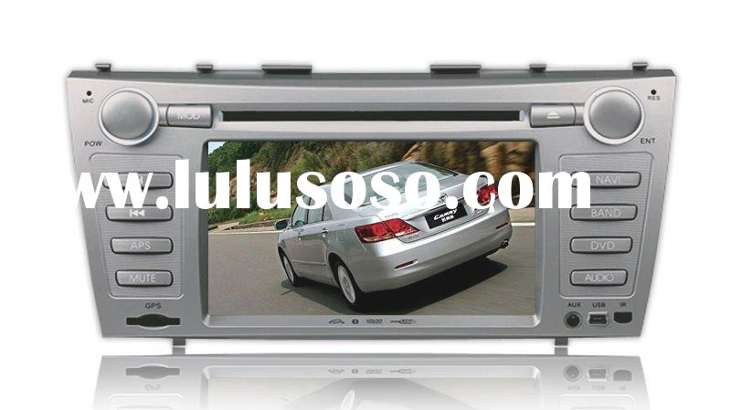 7 inch double din car dvd gps for TOYOTA CAMRY supporting JBL/ Pioneer amplifier