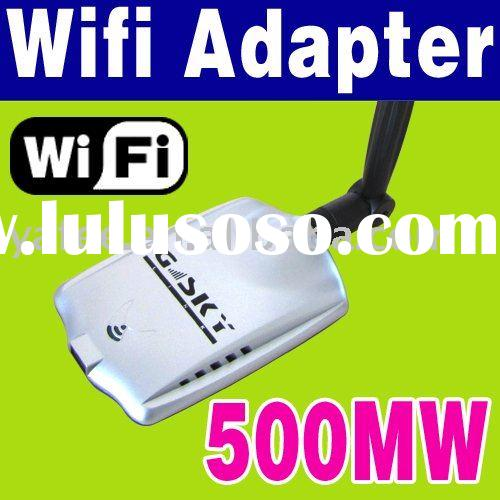 802.11 G 500mW 54Mbps USB Wireless Network WiFi Adapter