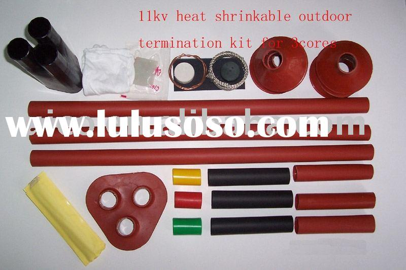 8.7/15KV heat shrinkable indoor and outdoor termination kit