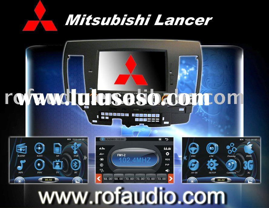 8 inch digital screen gps ipod rds rockford car dvd player for Mitsubishi Lancer