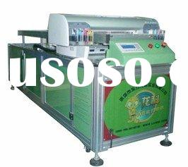 A1 glass digital flatbed printing machine(inkjet direct)