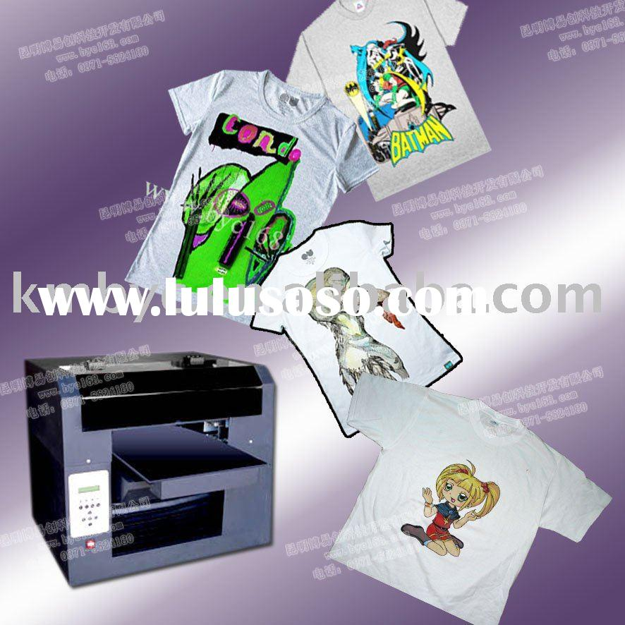 A3+ T-shirts, Textile Digital Flatbed Printing Machine