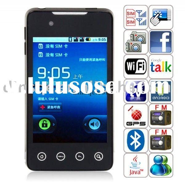 A9000 Android 2.2 WIFI TV GPS Quad Band Dual Sim Dual Camera Smart Phone