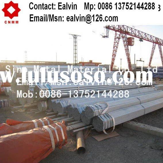 ASTM A53 galvanized steel pipe and galvanized tube