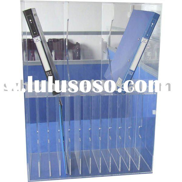 Acrylic Brochure Holder,Magazine Rack,File Display