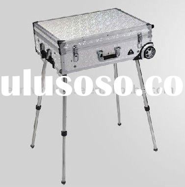 Aluminum Makeup Case with Light