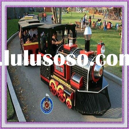 Amusement Equipment Electric Trackless Train