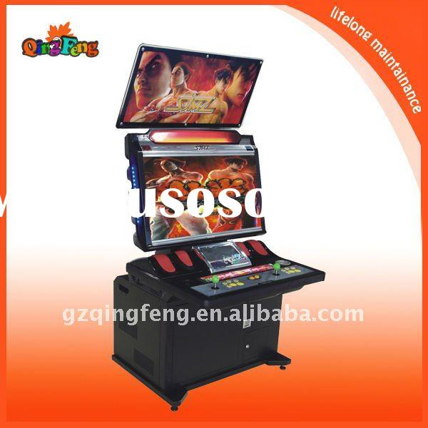 Amusement electronic video fighting game machine--Sega--video game machine-(WW-QF202)