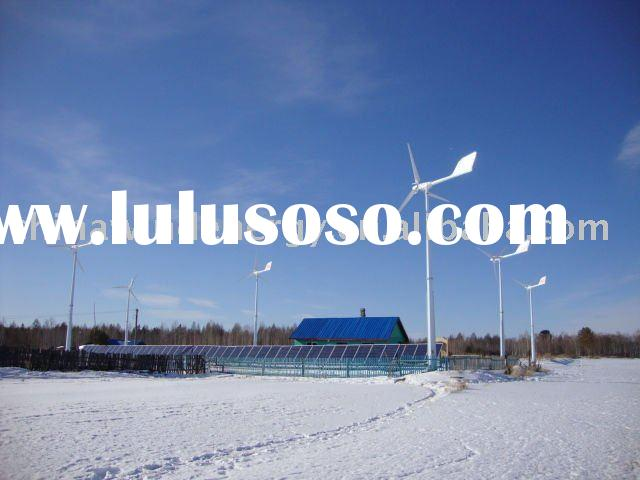 Anhua 6.5kW wind and solar hybrid power supply system