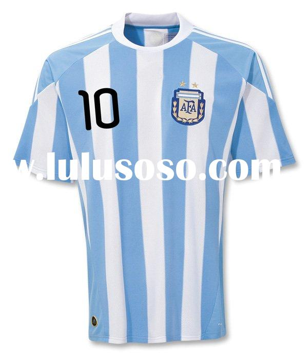 Argentina MESSI 10 Home Soccer Jersey