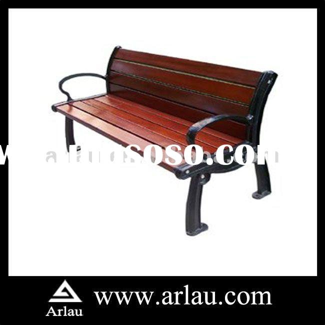 Arlau FW92 Antique Beech Wood and Cast Iron legs Bench