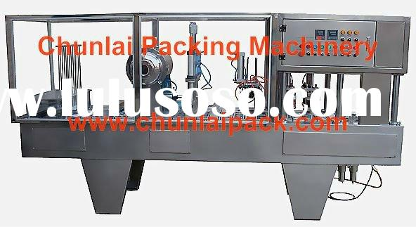 Aseptic Yogurt cup filling and sealing machine