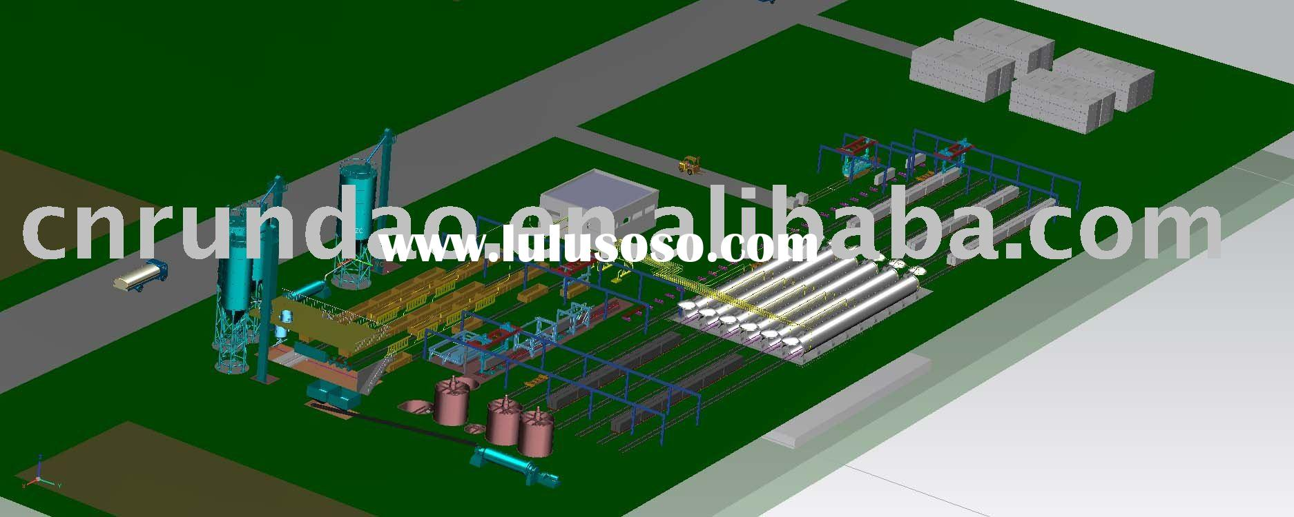 Autoclave Aerated Concrete (AAC) Production Line