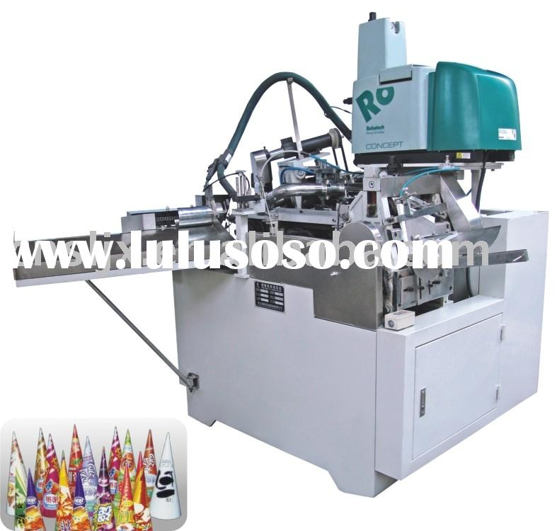 Automatic Paper Cone Sleeve Forming Machine For Ice Cream,Paper cone forming machine