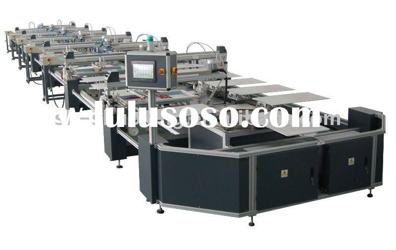 Automatic T-shirt screen printing machine,garment screen printing machine