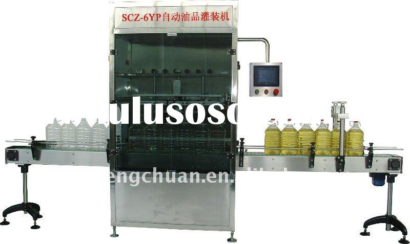 Automatic Vegetable Oil Filling and Capping Machine