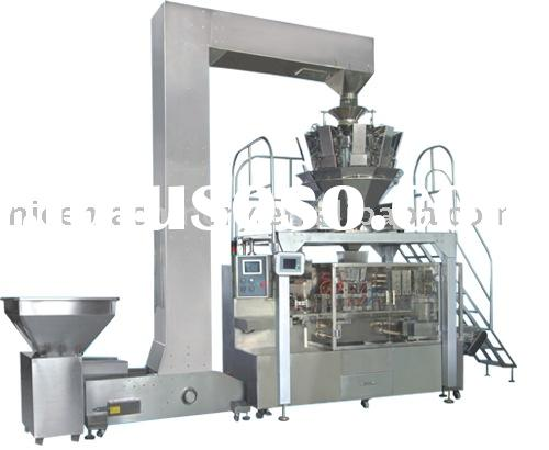 Automatic horizontal bag filling and sealing machine