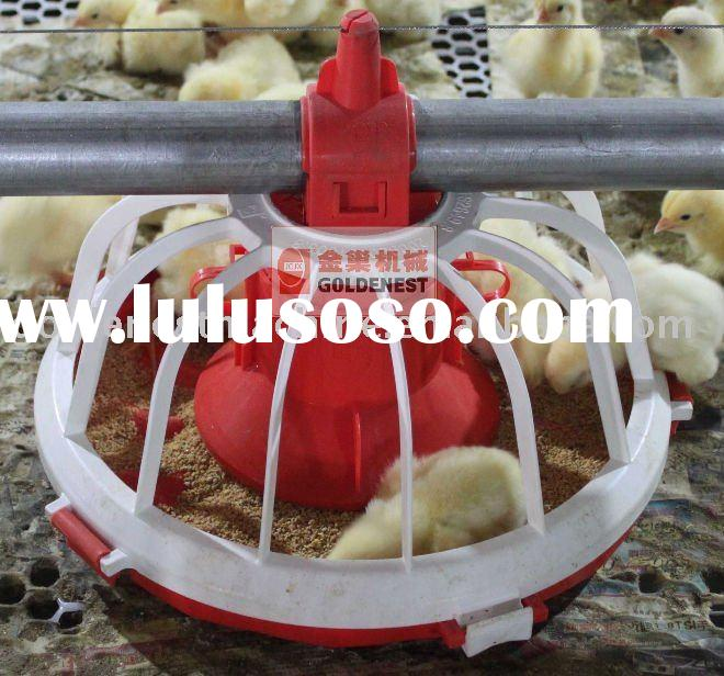 Automatic poultry feeder for chicken house equipment