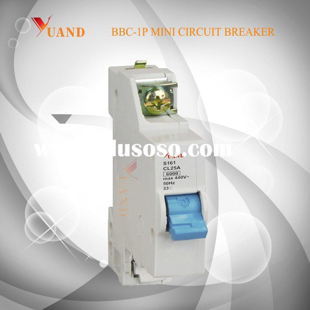 BBC Mini Circuit Breaker(MCB, Miniature Circuit Breaker)