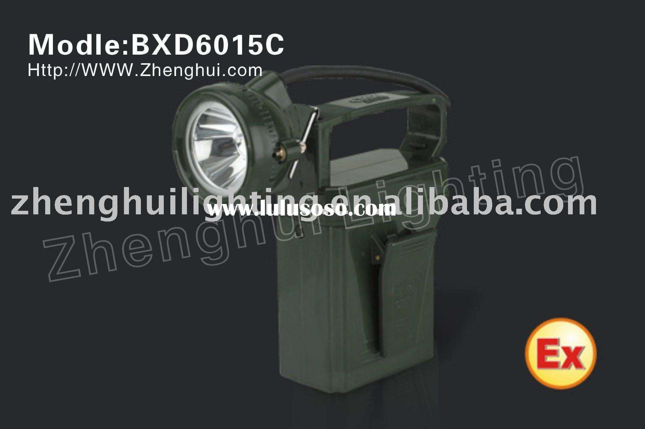 BXD6015C explosion proof LED portable emergency light