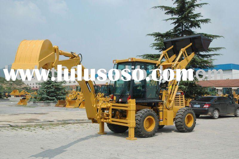 Backhoe loader (WZY30-25 with canopy, Cummins engine as option)