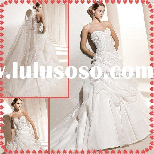 Ball gown evening wedding dress NSW0697